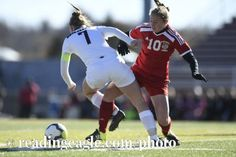 GIRLS SOCCER Fleetwood Tigers defeat the Shikellamy Braves 3-2 in a PIAA Class 3A quarterfinal at Harman-Geist Memorial Field, Hazleton. Photo by Jeremy Drey 11/12/2016