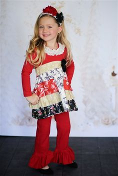 Giggle Moon Baby - Pure Gold Holiday Gracie Dress
