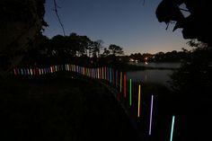 Bruce Munro | Lighting Installation | Hermitage Museum and Gardens, Norfolk, Virginia, USA | 2014