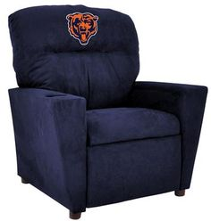 Use this Exclusive coupon code: PINFIVE to receive an additional 5% off the Chicago Bears Kids Microfiber Recliner at SportsFansPlus.com