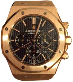 Royal Oak pink gold watch