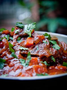 South African Tomato Stew (Tamatie bredie) - I want to make this but I'm not sure about the 'lamb necks' - I wonder if I could just use another cut of lamb with the same results.