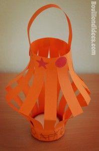 DIY bricolage enfant Nouvel an Chinois lanternes lampions
