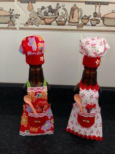 Garrafinhas decoradas