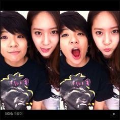 Amber and Krystal