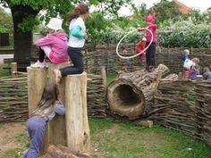 Přírodní hřiště mateřské školy v Českém Brodě