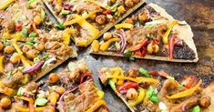 Thai Chickpea Pizza with Pizza Crust Recipe #wheatberry #wheat #wheatlovers #wheatgrass #wheatberries #farming #healthy #homegrown #Farm #wheatrecipes #food #foodie #healthylifestyle #healthyeating Wheat Pizza Dough, Whole Wheat Pizza, Cooking Garbanzo Beans, Great Recipes, Vegan Recipes, Great Pizza, Summer Grilling Recipes, Vegetarian Options, Crust Recipe
