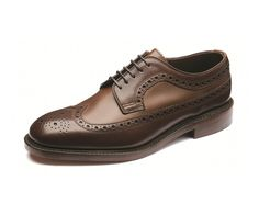 Taunton is a premium two-tone royal brogue, constructed using fine grain calf and burnished dark brown calf leathers, and a double leather sole, Taunton is made in England.