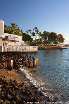 Sea side dining along Front Street, Lahaina , Maui, Hawaii. Vacation Destinations, Vacation Spots, Vacations, Aloha Hawaii, Hawaii Travel, Hawaian Islands, Lahaina Maui, West Maui, Trip To Maui