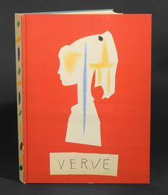 Picasso: Verve magazine cover, 1954