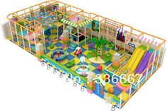 funnly colorful theme  indoor playground  kids playroom  playground equipment with slide ball pool trammpoline gun rider swing