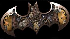 Thanks to Batman: Arkham Asylum and Arkham City, fans of the Dark Knight really have no cause for complaint these days. However, newly unearthed concept art reveals that gamers missed out on an intriguing steampunk take on the superhero. Arkham Asylum, Arkham City, Steampunk Logo, Steampunk Fashion, Steampunk Gadgets, Steampunk Design, Steampunk Artwork, Steampunk Theme, Steampunk Crafts