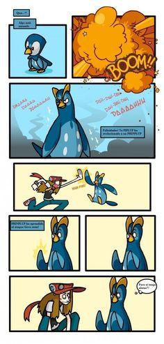 Pokémon no sabe de anatomía