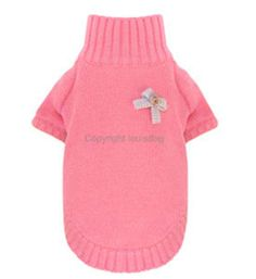 Designer Puppy Sweater 'Jelly N Belly' Louis Dog Pink Or Yellow