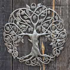 Haiti Metal Tree of Life, It's Cactus Metal Art Haiti