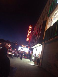 The famed Apollo Theater in Harlem, New York.
