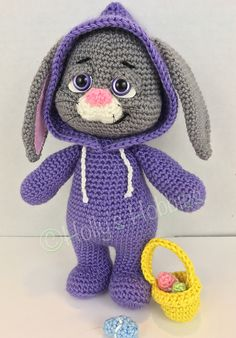 Ravelry: PJ Pals: Bella Bunny pattern by Holly's Hobbies