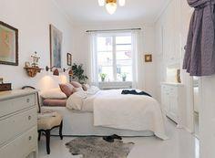 aranżacja wąskiej sypialni