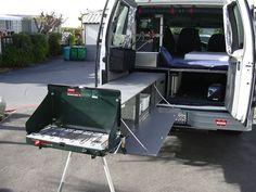 Ququq Campingbox Converts Any Full Sized Van Into A Camper