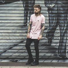 541186d87a Macho Moda · jersey t shirt, camiseta jersey, réveillon 2017, looks  masculinos réveillon 2017, street