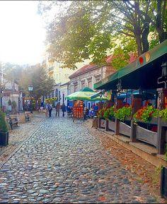 Skadarlija in autumn... www.belgradecat.com