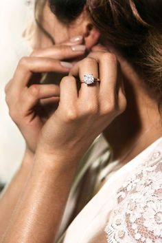 Sparkle Like A Diamond: 12 Moissanite Engagement Rings ❤ See more: http://www.weddingforward.com/moissanite-engagement-rings/ #wedding #moissanite #engagement #rings