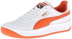 Mens Puma GV Special Mens Classic Sneakers Shoes Trainers White Orange  343569-69 eb159fc8a
