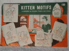 Superior Hot Iron Transfer 180 Kitten Motifs