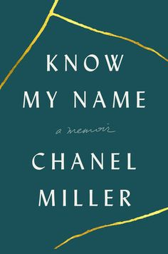 Know my name chanel miller book
