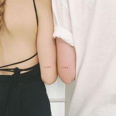 Diskrete Tattoos, 42 Tattoo, Paar Tattoos, Elbow Tattoos, Dainty Tattoos, Badass Tattoos, Mini Tattoos, Body Art Tattoos, Small Tattoos