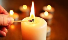 Emergency Candles are specially made for outdoor activities and emergencies. Check this article now for 10 Best Emergency Candles on the market today! Oracion A San Antonio, Christmas Eve Service, Cauldron, Candle Making, Stress Relief, Scented Candles, Brewing, Herbalism, Cancer