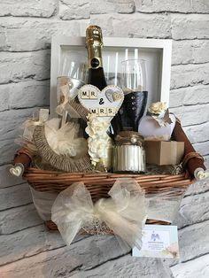 Wedding Gift Basket Hamper, Mr and Mrs Wedding Gift, Occasion