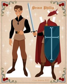 prince phillip paper doll | paper dolls by cory Arielle Gabriel has free paper dolls at The International Paper Doll Society website!