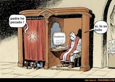 humor el cura del facebook