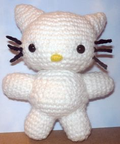 Hello Kitty Amigurumi by BrigetteMora.deviantart.com on @deviantART