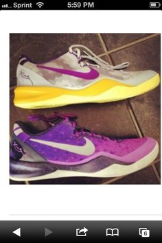 newest collection c86ec 4a4f3 Gradients Kobe 8s, Kobe Shoes, Shoes Sneakers, Nike Tennis, Nike Trainers,