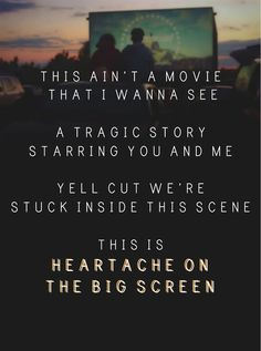 Heartache on the Big-Screen by 5 Seconds of Summer. My current favorite song :)