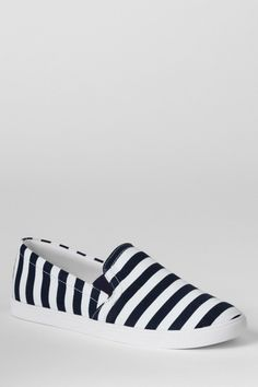 Women's Casual Fabric Slip-on Shoes from Lands' End on Catalog Spree, my personal digital mall.