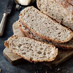 Chleb pszenny razowy - Przepis