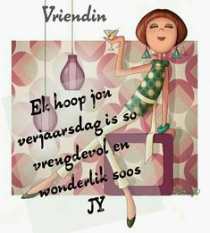 Discover recipes, home ideas, style inspiration and other ideas to try. Birthday Wishes Gif, Happy Birthday Wishes For A Friend, Happy Wishes, Birthday Messages, Happy Birthday Pictures, Happy Birthday Quotes, Happy Birthday Cards, Adele, Afrikaanse Quotes