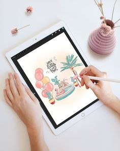 I find drawing and coloring very relaxing... 😍 How about you?P.S. Find this coloring page in August DigitallyWild issue ☀
