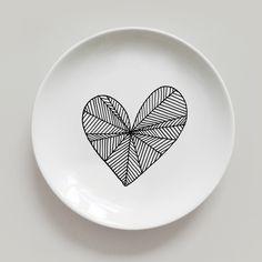 No automatic alt text available. Ceramic Mugs, Ceramic Pottery, Ceramic Art, Pottery Painting, Ceramic Painting, Heart For Kids, Ceramic Design, Paint Designs, Decorative Plates