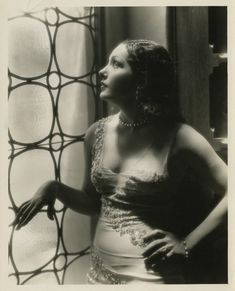 Portrait of Lupe Velez for The storm directed by William Wyler, 1930.  Portrait by Ray Jones