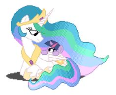 Celestia and Twilight My Little Pony Baby, My Little Pony Comic, My Little Pony Friendship, Princesa Celestia, Celestia And Luna, My Little Pony Collection, Mlp Memes, Imagenes My Little Pony, Princess Twilight Sparkle