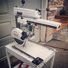 Delta Rockwell Super 900 Radial Arm Saw 1958 (Fleetham Design)
