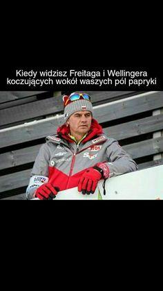 Read from the story Skoczne memy i suchary by Wellingerowna (Wellingerówna) with 91 reads. Ski Jumping, Skiing, Windbreaker, Lol, Humor, Memes, Celine, Sports, Ski
