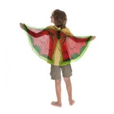 Douglas Toys Dreamy Dress-Ups Dragon Wings Gigi Dress, Dragons Love Tacos, Kids Dress Up, Little Dragon, Building For Kids, Dress Up Costumes, Fiery Red, Fairy Wings, Butterfly Wings
