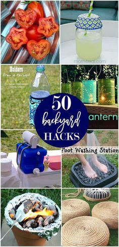 50 Backyard Hacks to help make your summer fun!