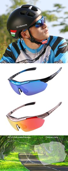 097f45267a Mens Polarized Bicycle Goggles Be Equipped With Myopic Glasses Lanyard  Interchangeable Lens is hot sale at NewChic