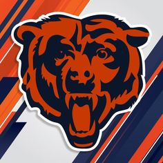 Chicago Bears NFL Football Sport Art Decor Vinyl Sticker X Decorate your home, car, truck, window or. with high quality bumper sticker Digitally Printed Weather Resistant Easy to Apply Art Vinyl Decal Bears Football, Football Team, Football Posters, Football Jokes, Football Memorabilia, Football Design, Football Baby, Football Season, College Football